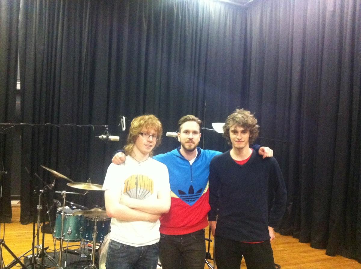 Ryan Elliott Tom Burgess Luke Taplin Eden Shadow Drum Recording
