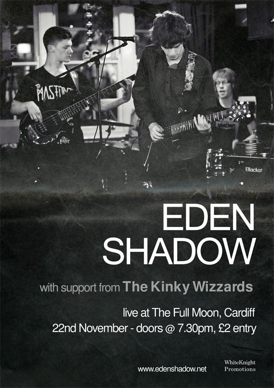 Eden Shadow at The Moon Club Cardiff